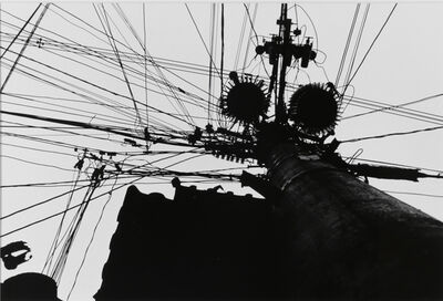 Daido Moriyama, 'Electric Wire, Suita City, Osaka', 1990