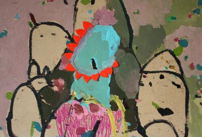 Mònica Subidé, 'Cuenco con girasol rojo', 2019