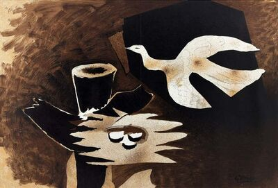 Georges Braque, 'L'Oiseau et son Nid', ca. 1956