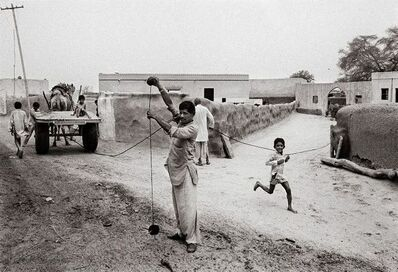 Raghu Rai, 'Lunkaransar Village', 1989