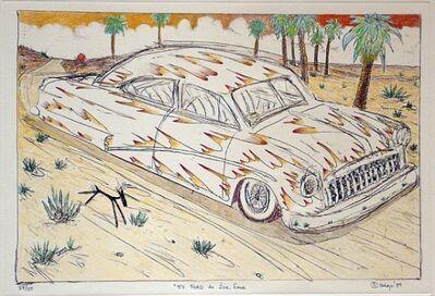 """Gilbert """"Magú"""" Luján, '(Hand Painted) 50 Ford de Ese Eme', 1989"""