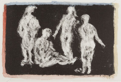 Mark Tobey, 'Four Figures', 1967