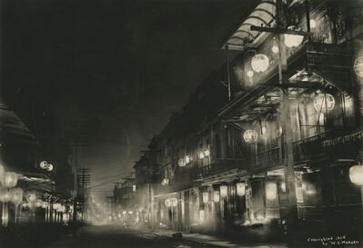 Willard Worden, 'Midnight in Chinatown', 1903