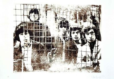 Gered Mankowitz, 'The Rolling Stones 'Caged'', 1994