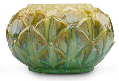 Fulper Pottery, 'Artichoke vase, Flemington, NJ', ca. 1920