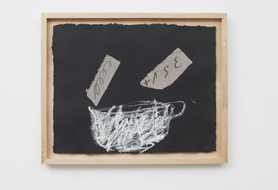 Antoni Tàpies, 'Tassa i dos collages', 2007