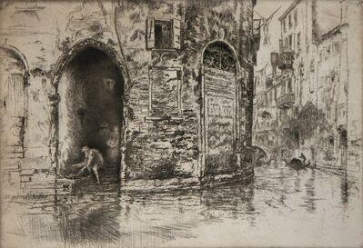 James Abbott McNeill Whistler, 'The Two Doorways', 1880