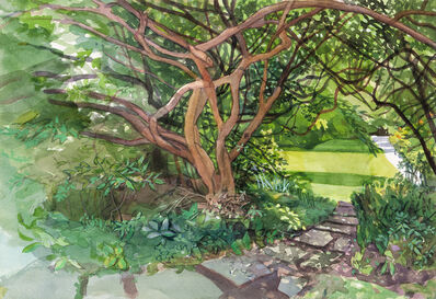 Jane E. Goldman, 'Secret Garden', 2020