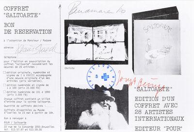 Joseph Beuys, 'Saltoarte - Reservation Voucher', 1975