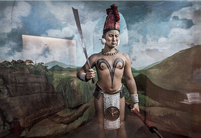 Jane Tuckerman, 'Nagaland Warrior', 2015