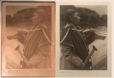 Edward Sheriff Curtis, 'Kamagwaih Cascade', ca. 1910
