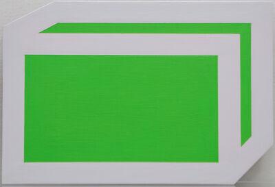"Brent Hallard, '""Mailer"" Green', 2011"