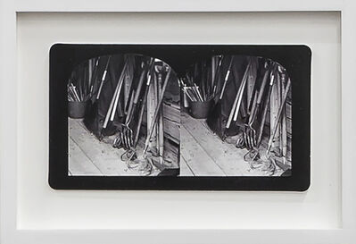 Penelope Stewart, 'Ruin Gazing Vol 1, paradise gardens - No: 019 - Tools in the shed, framed stereoscopic cards created by artist', 2015