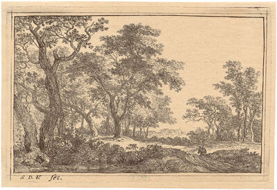 Simon de Vlieger, 'The Forest Clearing', ca. 1640/50