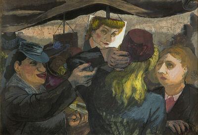 Henry Koerner, 'Hat Shoppers', ca. 1945