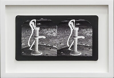 Penelope Stewart, 'Ruin Gazing Vol 1, paradise gardens - No: 015 - Water Pump, Spadina House, framed stereoscopic cards created by artist', 2015