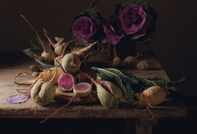Paulette Tavormina, 'Watermelon Radishes'