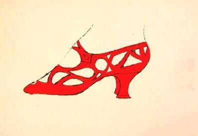 Andy Warhol, 'Red Shoe, IV.73B', ca. 1955