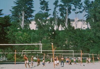Slim Aarons, 'Volleyball in Santa Barbara, 1975', 1975