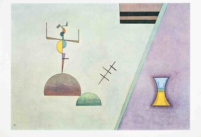 Wassily Kandinsky, 'Derriere Le Miroir No. 154 Double Page', 1965