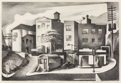 Benton Spruance, 'Supplies for Suburbia', 1938