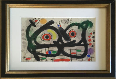 Joan Miró, 'The Lizard with the Golden Feathers (Le Lezard aux plumes d'or)', 1967