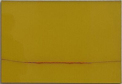 Herbert Warmuth, 'Orange durch Gelb', 2020