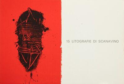 Emilio Scanavino, 'A mezzo della notte', 1968