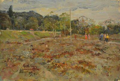 Aleksey Ivanovich Borodin, 'A grey day', 1972