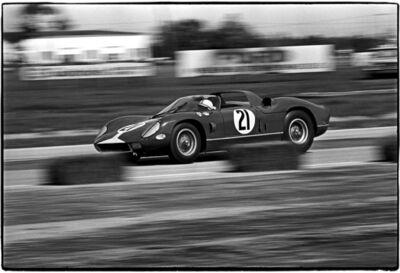 Al Satterwhite, 'John Surtees / Sebring, Ferrari 330P #21', 1964