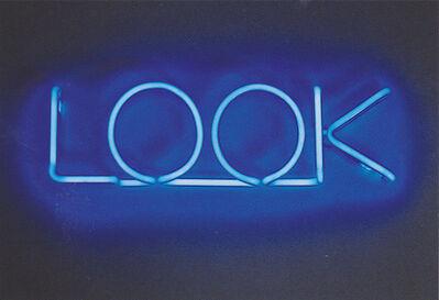 Maurizio Nannucci, 'Look', 2011