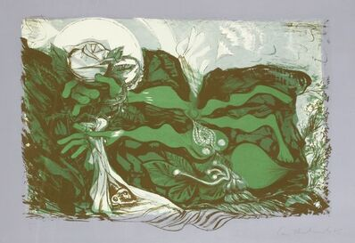 Ceri Richards, 'The Force That Through The Green Fuse Drives The Flower', 1965