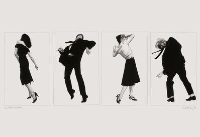 Robert Longo, 'Men in the Cities (LA Wall)', 1981