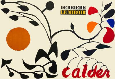 Alexander Calder, 'Front cover from 'Derrière le Miroir - Calder'', 1954
