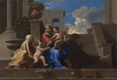 Nicolas Poussin, 'The Holy Family on the Steps', 1648