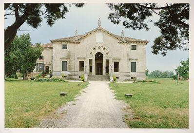 Luigi Ghirri, 'Cicogna dalla strada per Montagnana', 1989