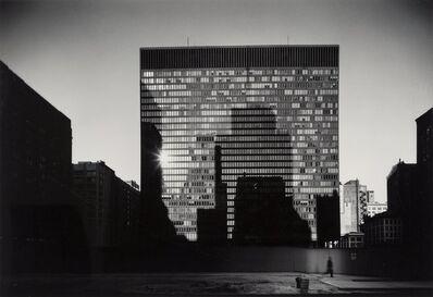 Elliott Erwitt, 'Mies Van Der Rohe Building, Chicago', 1969