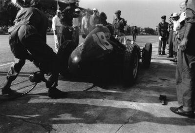 Jesse Alexander, 'Phil Hill, Ferrari Starts, Monza', 1958