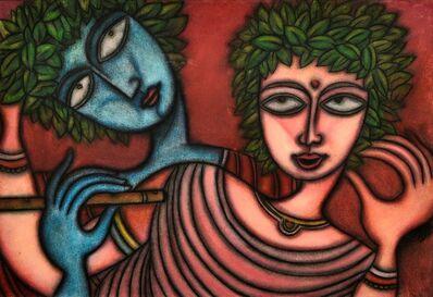 Prokash Karmakar, 'Krishna & Radha', ca. 2000
