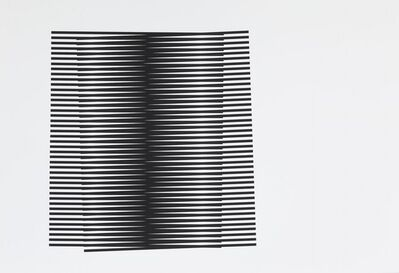 Leigh Suggs, 'Untitled (Stripes Series II)', 2017