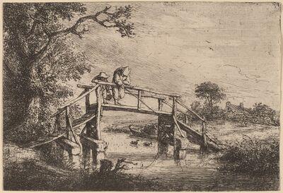 Adriaen van Ostade, 'The Angler', probably 1653