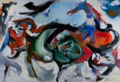 Walter Quirt, 'Horse No. 711', 1959