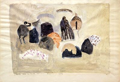 Zoran Antonio Mušič, 'Abstract Composition—Horses', 1954