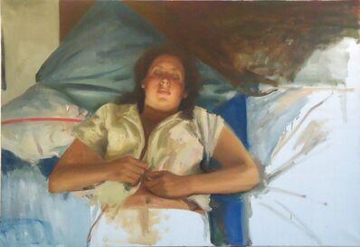 Sidney Goodman, 'Woman in Bed', ca. 1976