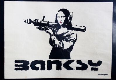 Banksy, 'Mona Bazooka', 2002