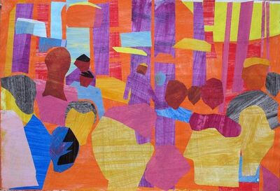 David Kapp, 'Summer Crowd', 2014