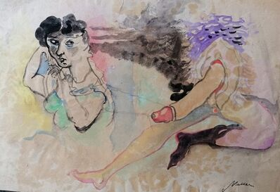 Mino Maccari, 'The Hermaphrodite', 1950s