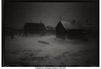 Duane Michals, 'Untitled (Winter Barns)'