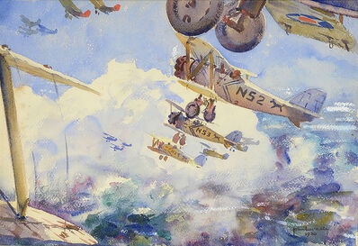 John Lavalle, 'Biplanes In Flight ', 1930