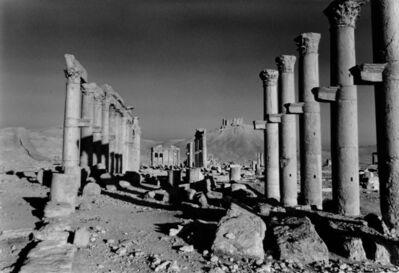 Don McCullin, 'The Cardo Maximus of Apamea, Syria', 2006